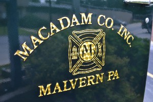 Macadam Company fire truck